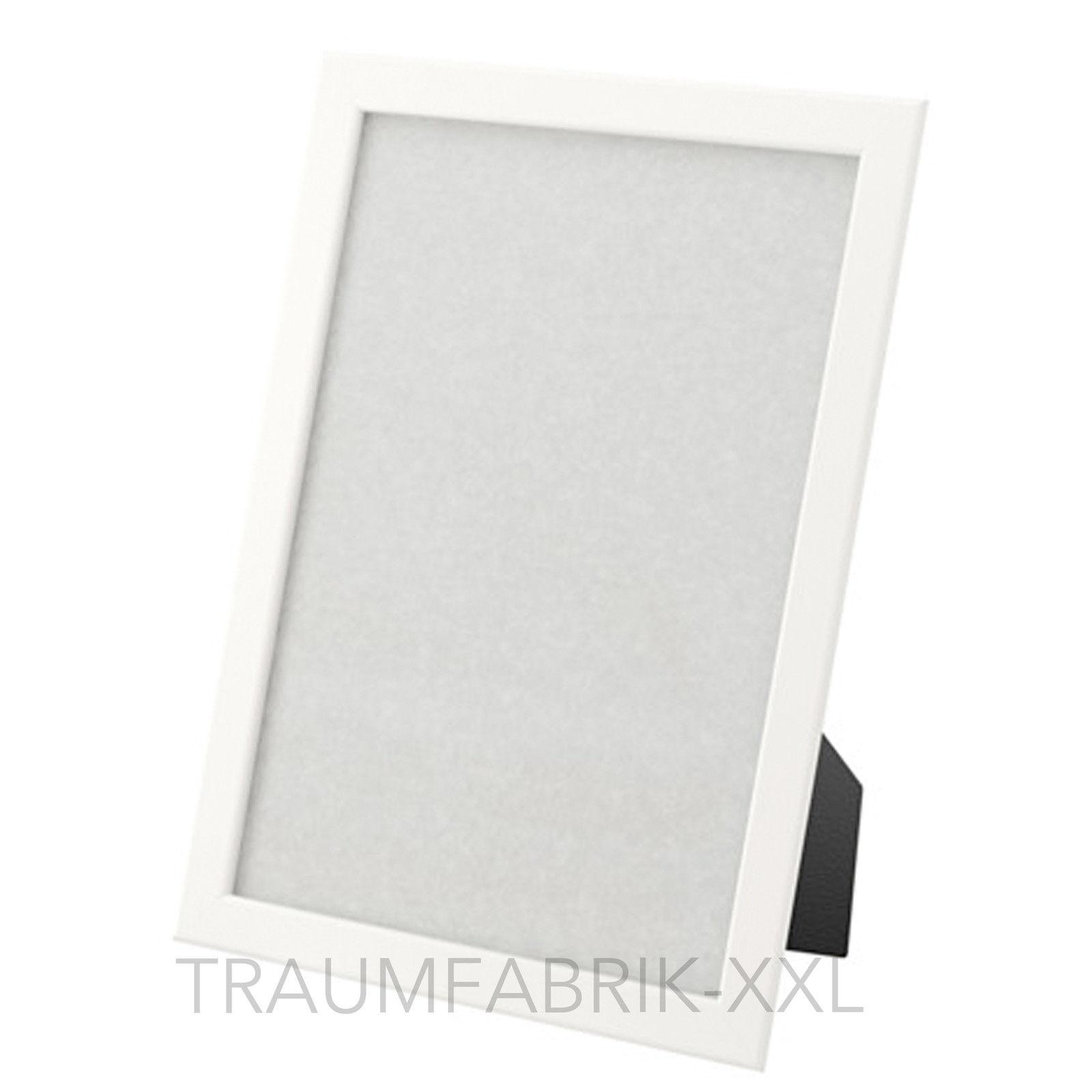 IKEA FISKBO Bilderrahmen Fotorahmen Einrahmung weiß 21×30 cm ( DIN ...