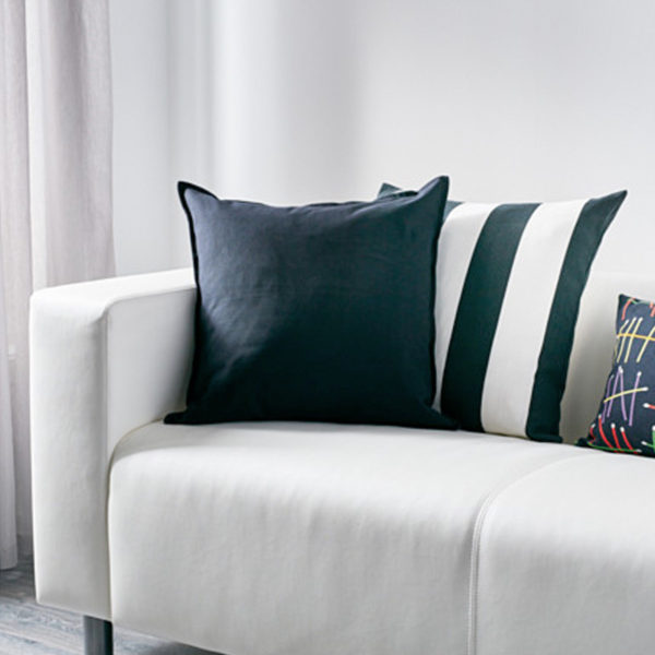 kissenbezug 50x50 baumwolle cool artek siena kissenbezug x cm wei schwarz with kissenbezug. Black Bedroom Furniture Sets. Home Design Ideas