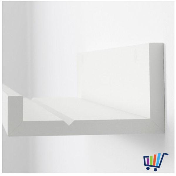 ikea mosslanda bilderleiste in weiss 55cm bilderrahmen. Black Bedroom Furniture Sets. Home Design Ideas