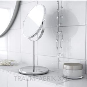 ikea trensum badspiegel schminkspiegel vergr erungsspiegel kosmetik spiegel neu traumfabrik xxl. Black Bedroom Furniture Sets. Home Design Ideas