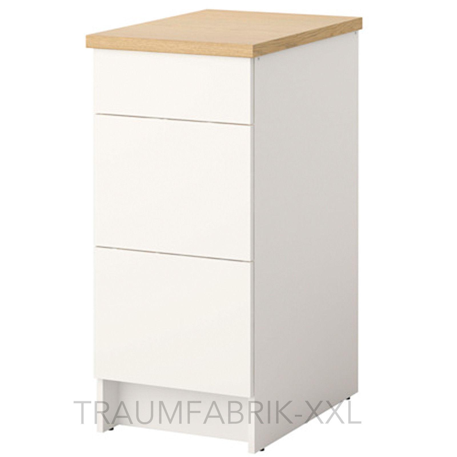 IKEA Unterschrank mit Schubladen + Arbeitsplatte Küchenunterschrank  40x61x90 cm