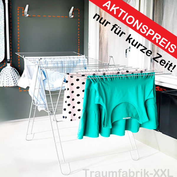 19 m w schest nder w schetrockner fl gelw schtrockner st nder ikea wei neu ovp traumfabrik xxl. Black Bedroom Furniture Sets. Home Design Ideas