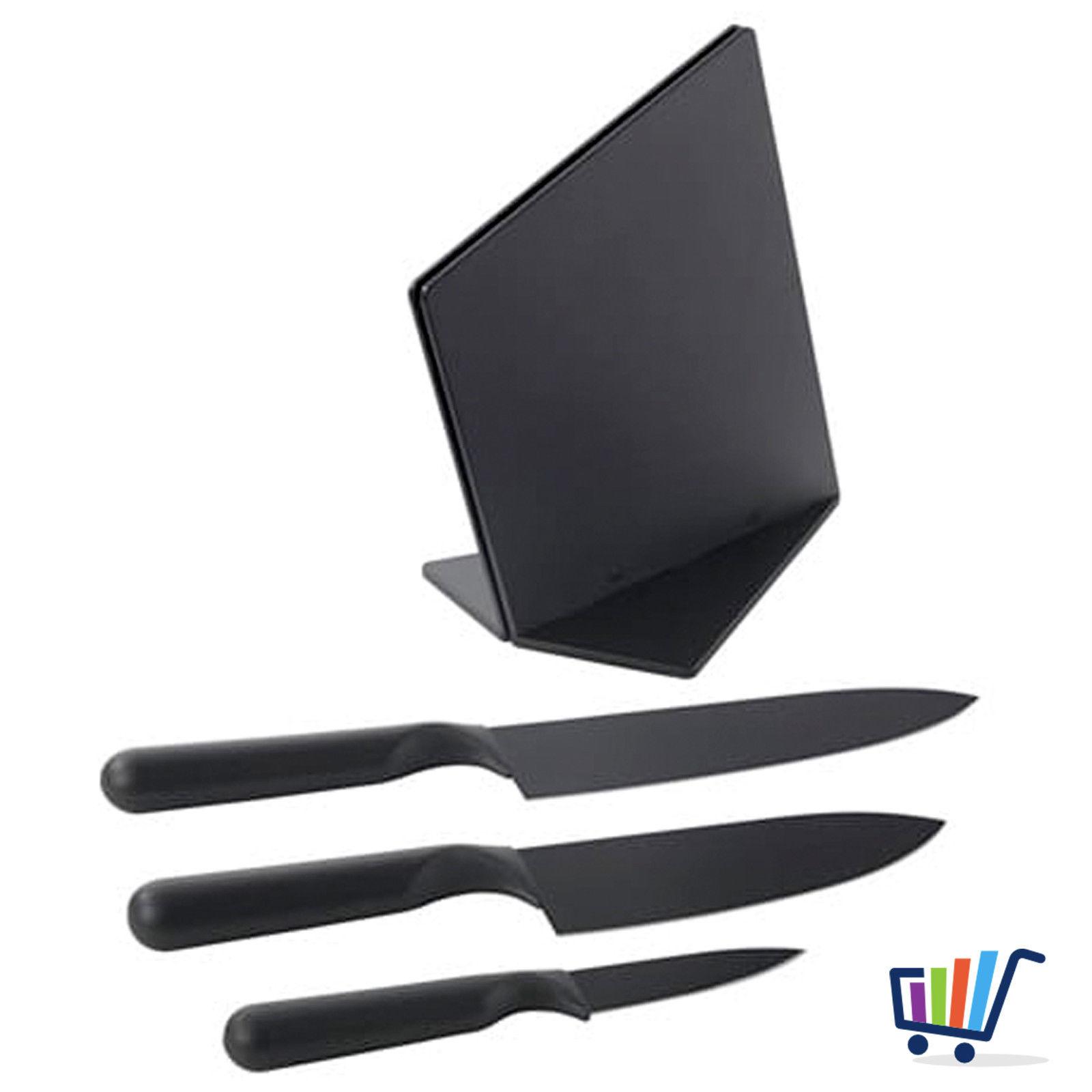 3tlg Designer Ikea Messerset Messer Set Kochmesser Küchenmesser ...
