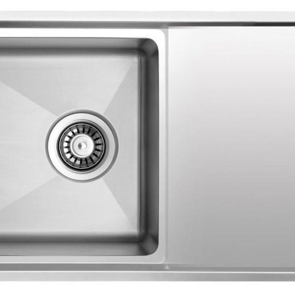 Edelstahl Küchenspüle Küche Einbauspüle Spüle Spülbecken 86 x 50 ...