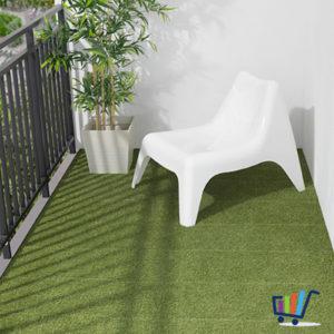 ikea runnen 9 er pack bodenrost grau balkon terrasse bodenbelag bodenfliesen neu traumfabrik xxl. Black Bedroom Furniture Sets. Home Design Ideas