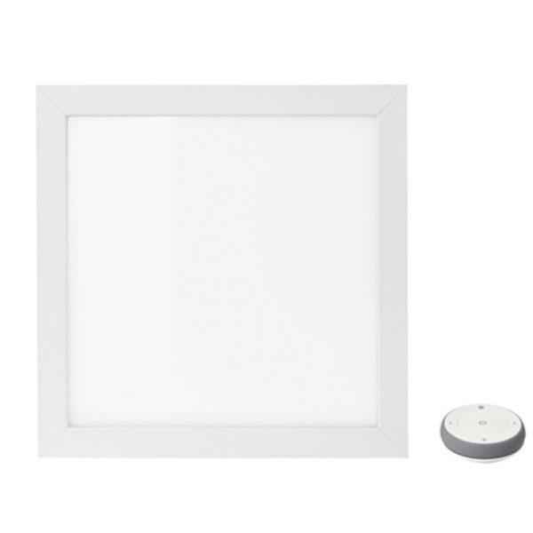 ikea floalt led lichtpaneel wei spektrum dimmbar 30x30cm a lichtobjekt lampe traumfabrik xxl. Black Bedroom Furniture Sets. Home Design Ideas