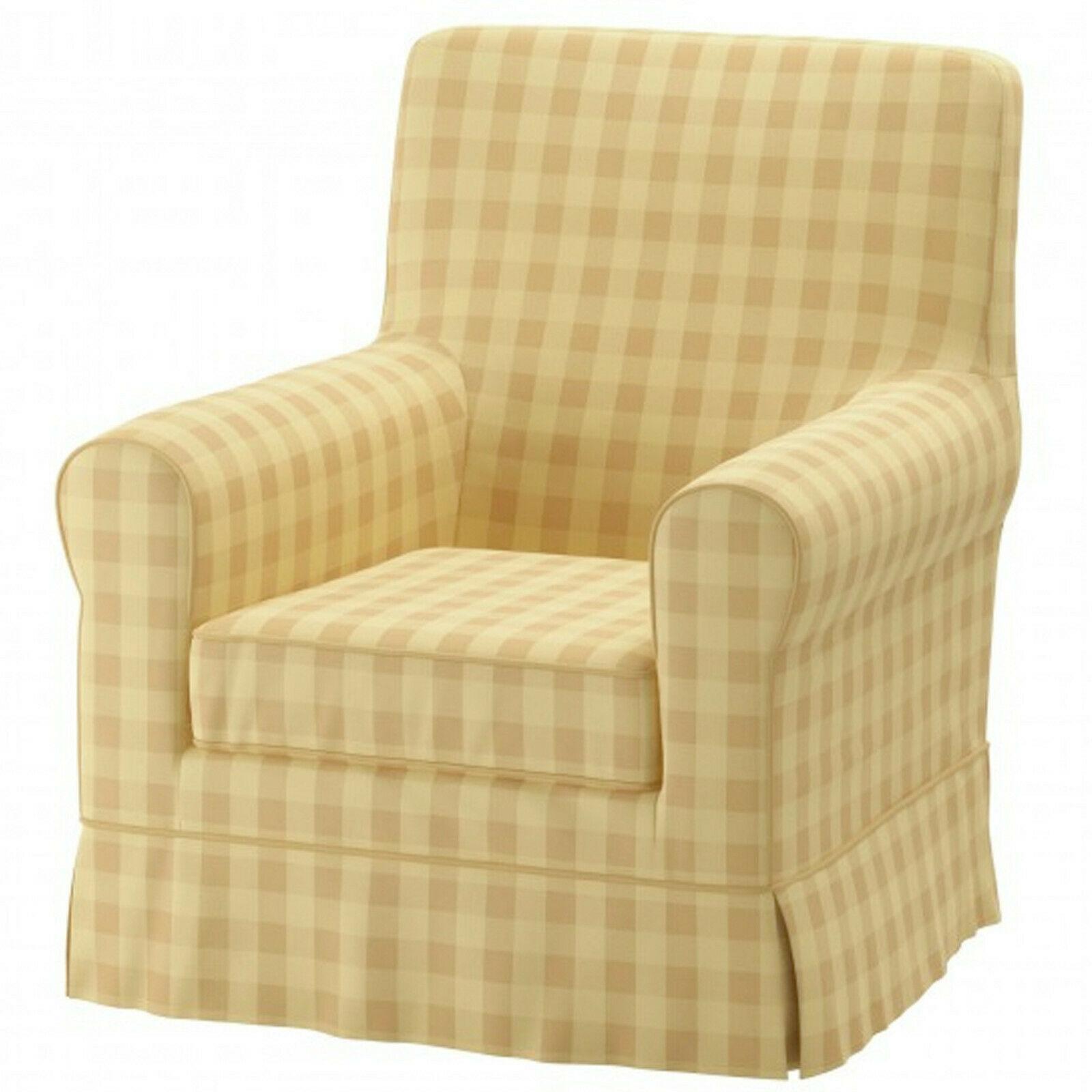 Ikea Jennylund Bezug Für Sessel Skaftarp Gelb 40340427