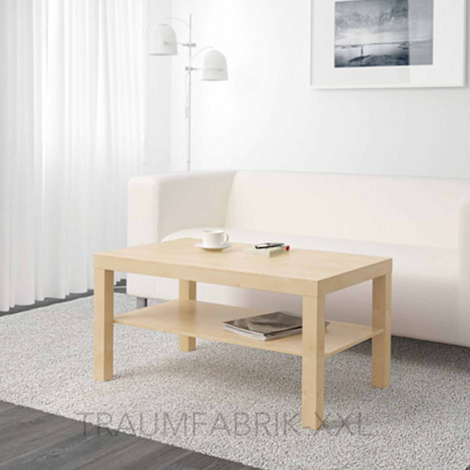 Ikea Lack Beistelltisch 90x55 cm Birke Sofatisch Couchtisch Wohnzimmertisch  NEU
