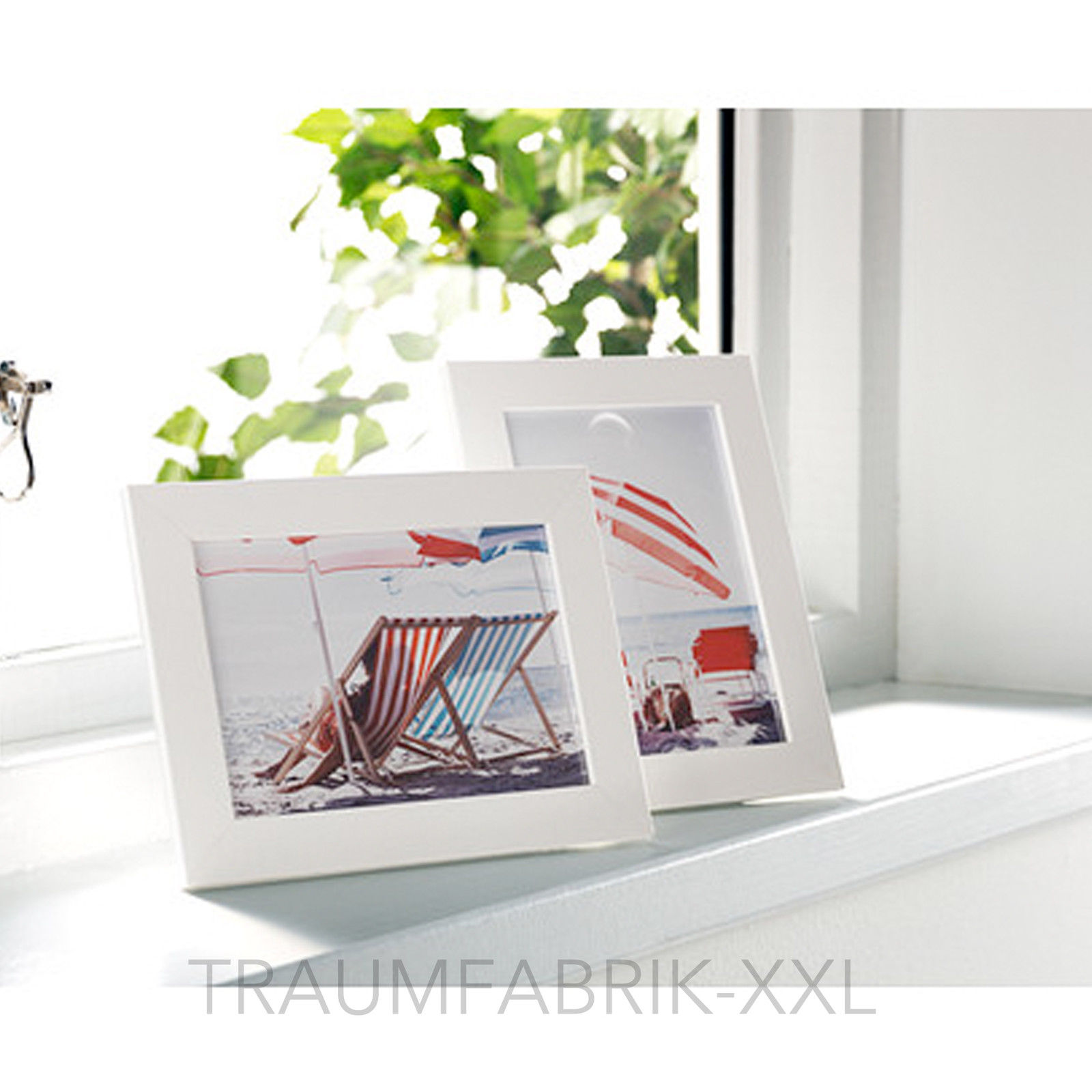 2 x Bilderrahmen 13×18 cm weiß Holzbilderrahmen Holzrahmen Rahmen ...