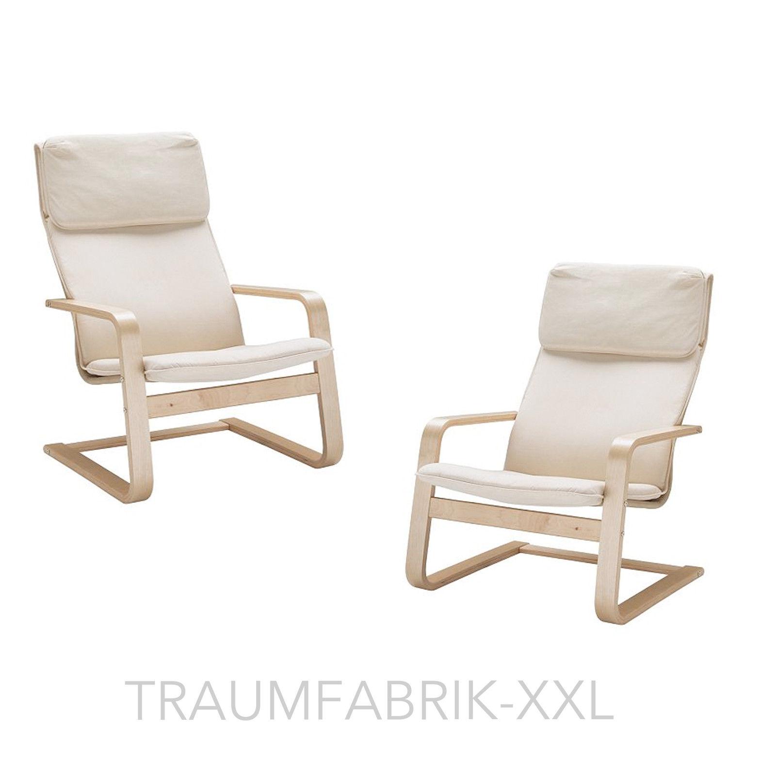 2 x IKEA Schwingsessel Pello bequemer Sessel Freischwinger Ruhesessel  Lounge NEU