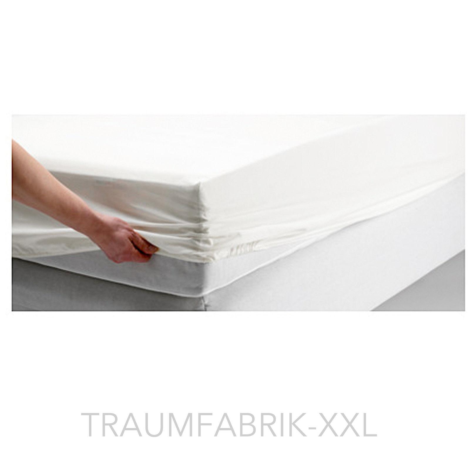 ikea bettlaken spannbettlaken wei 90x200cm schlafzimmer 100 baumwolle neu ovp traumfabrik xxl. Black Bedroom Furniture Sets. Home Design Ideas