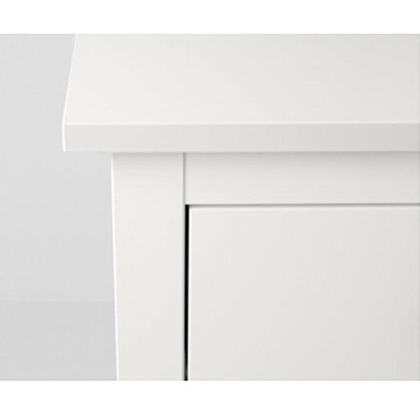 Hemnes kommode ikea schwarz  IKEA HEMNES Kommode mit 2 Schubladen weiß Nachtkonsole Nachttisch ...