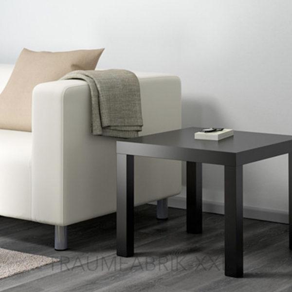 ikea lack beistelltisch schwarz 55cm couchtisch sofatisch wohnzimmertisch tisch traumfabrik xxl. Black Bedroom Furniture Sets. Home Design Ideas