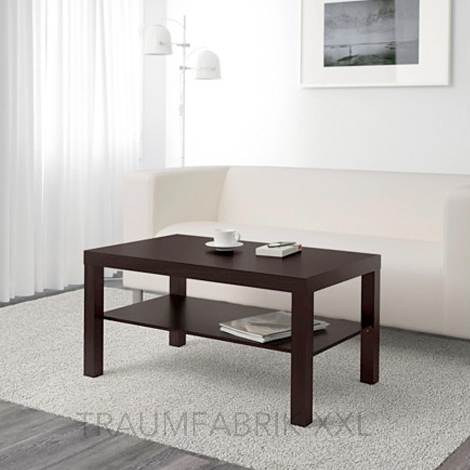 Ikea Lack Beistelltisch 90×55 schwarzbraun Sofatisch Couchtisch ...