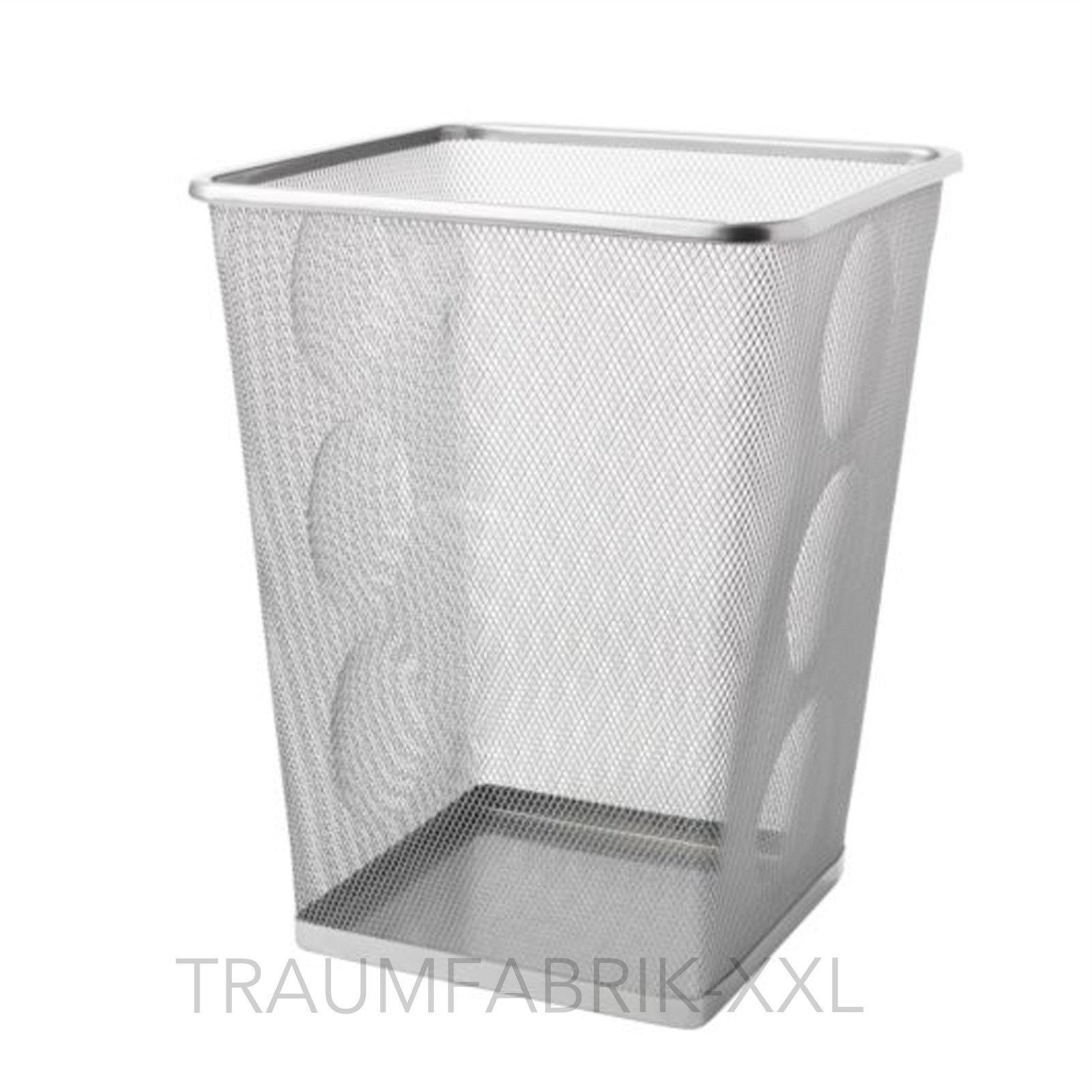 Papierkorb Metall Papiersammler Drahtkorb Papiereimer Mülleimer Abfallkorb Büro