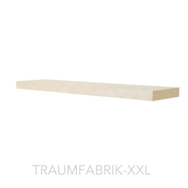 ikea designer wandregal 110 26 cm regal birke frei. Black Bedroom Furniture Sets. Home Design Ideas
