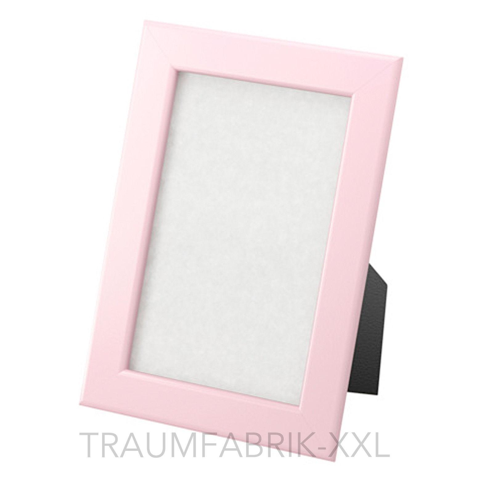 ikea fiskbo bilderrahmen 10x15cm rosa fotorahmen photorahmen galerierahmen neu traumfabrik xxl. Black Bedroom Furniture Sets. Home Design Ideas