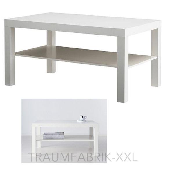 ikea lack couchtisch 90 55 cm wohnzimmertisch wei. Black Bedroom Furniture Sets. Home Design Ideas