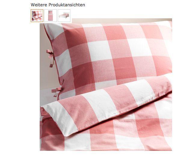 Ikea Bettwäsche Bettbezug Bettgarnitur Set 2 Tlg140200 Cm Landhaus