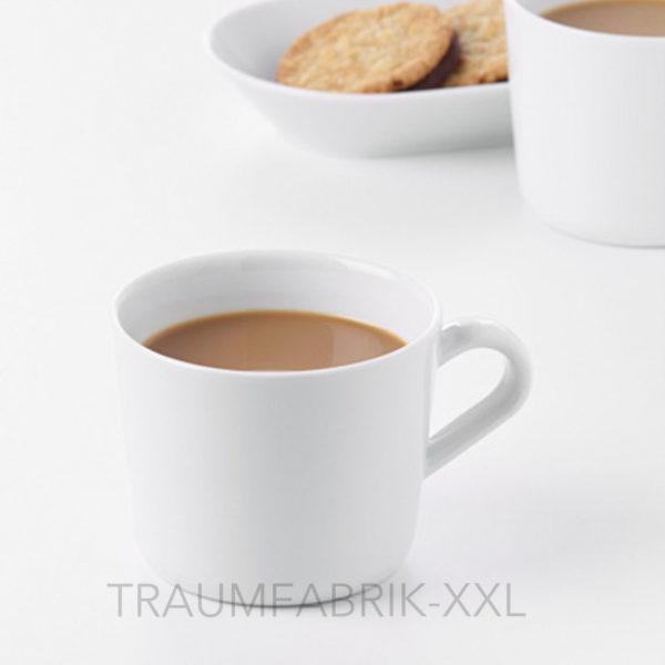 ikea 365 kaffeebecher wei kaffee tasse becher kaffeepott tassen 240ml neu traumfabrik xxl. Black Bedroom Furniture Sets. Home Design Ideas