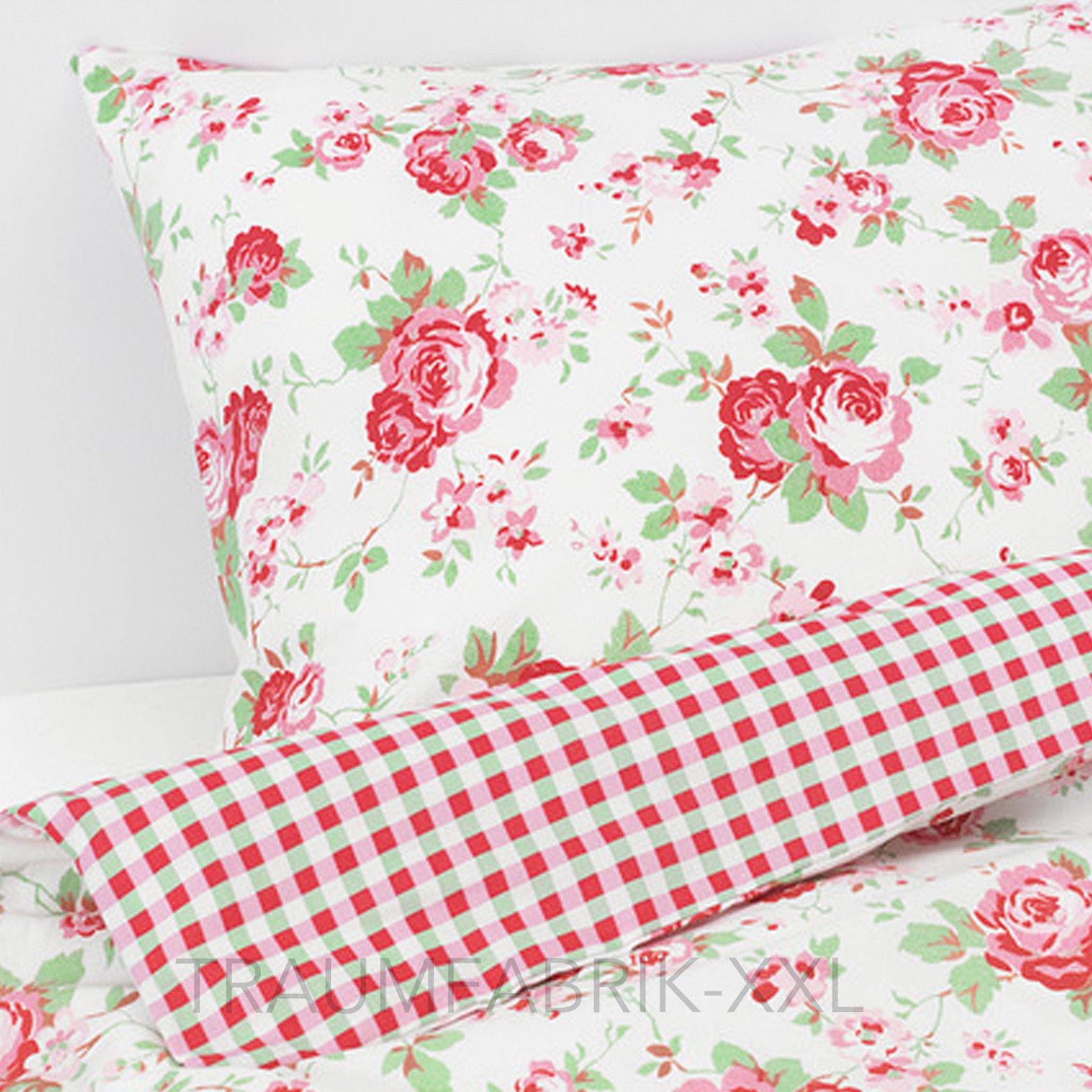 Ikea Bettwäsche Bettwäscheset Rosali 2 Teilig 8080 Und 140200 Cm