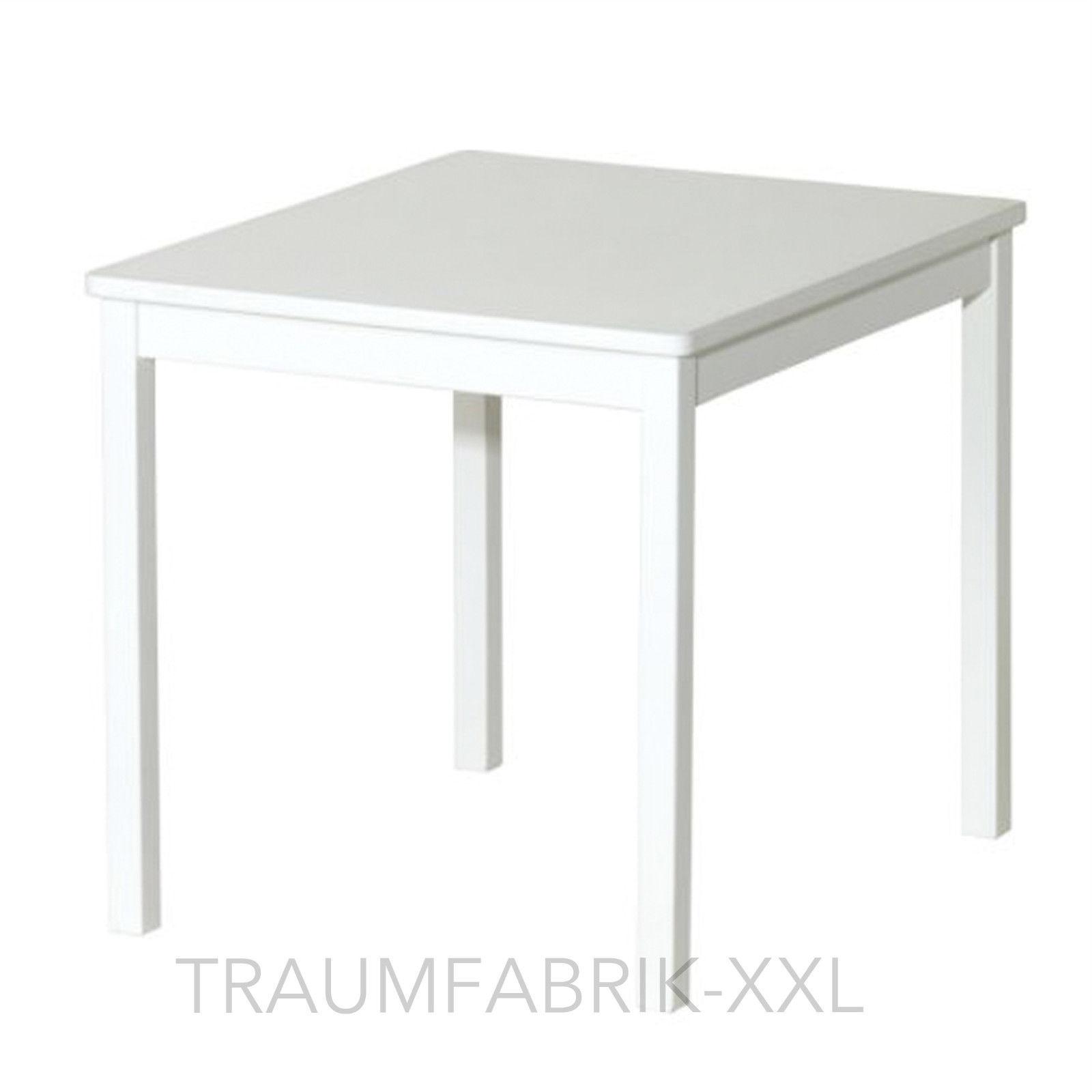 IKEA Kindertisch KRITTER Tisch aus Massivholz BxTxH: 50x59x50cm weiß NEU&OVP