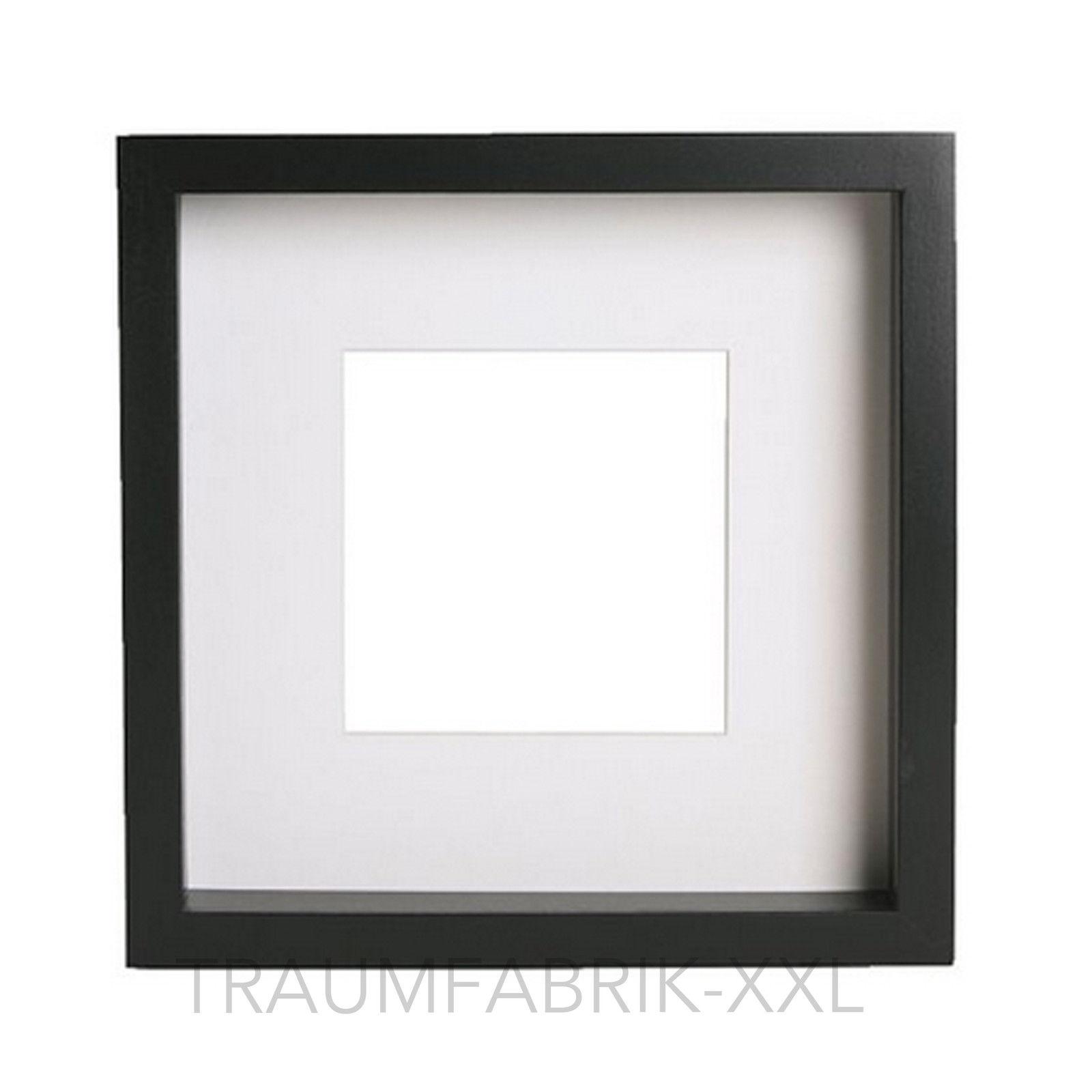 IKEA RIBBA Rahmen Schwarz 23x23x45 Cm Bilderrahmen Fotorahmen