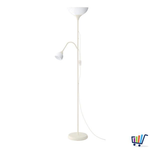 IKEA Strahler Deckenfluter Deckenstrahler Stehleuchte weiß Stehlampe ...