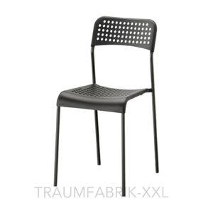 ikea stuhl schwarz stapelstuhl k chenstuhl esszimmerstuhl st hle designerstuhl traumfabrik xxl. Black Bedroom Furniture Sets. Home Design Ideas