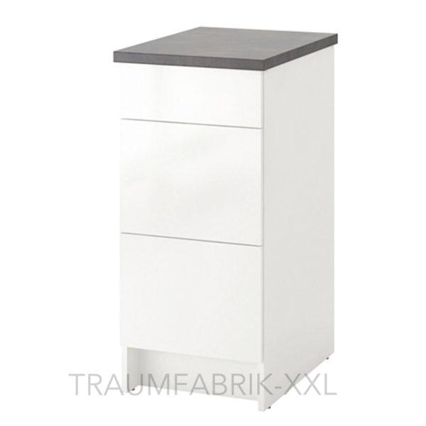 Küchenschrank weiß ikea  IKEA Unterschrank m. Schubladen Küchenunterschrank Küchen Schrank ...