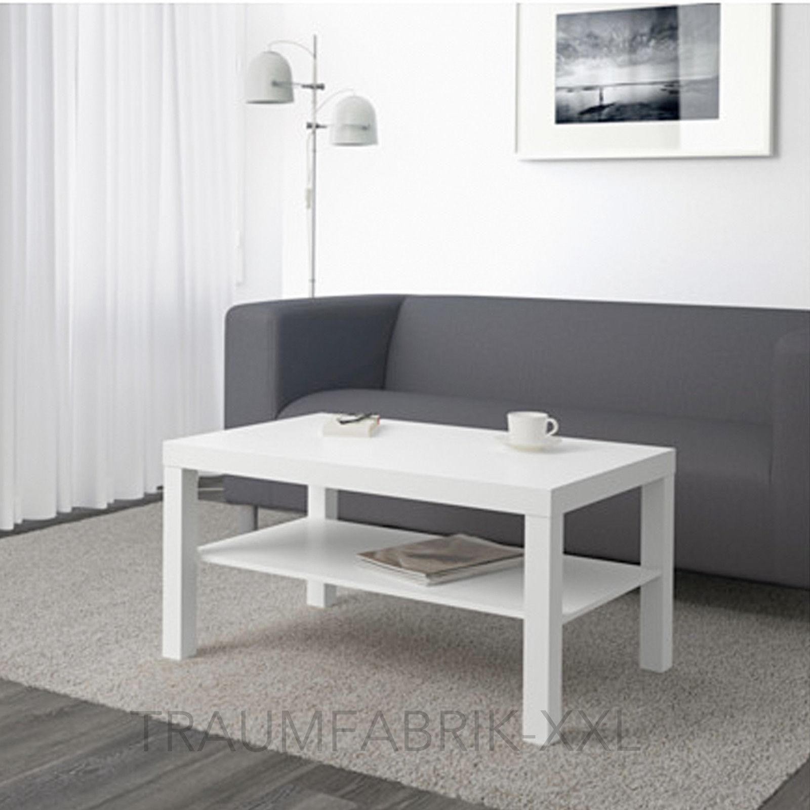 Couchtisch ikea lack  Ikea Lack Beistelltisch 90×55 cm Weiß Sofatisch Couchtisch ...