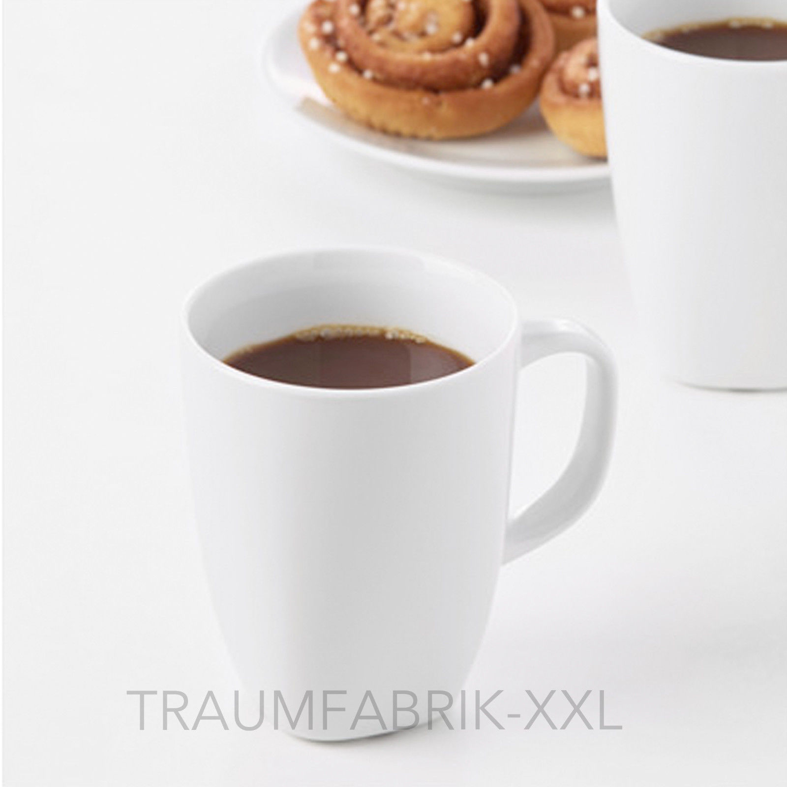 10 x ikea v rdera kaffeebecher wei kaffee tasse becher kaffeepott tassen 30cl traumfabrik xxl. Black Bedroom Furniture Sets. Home Design Ideas