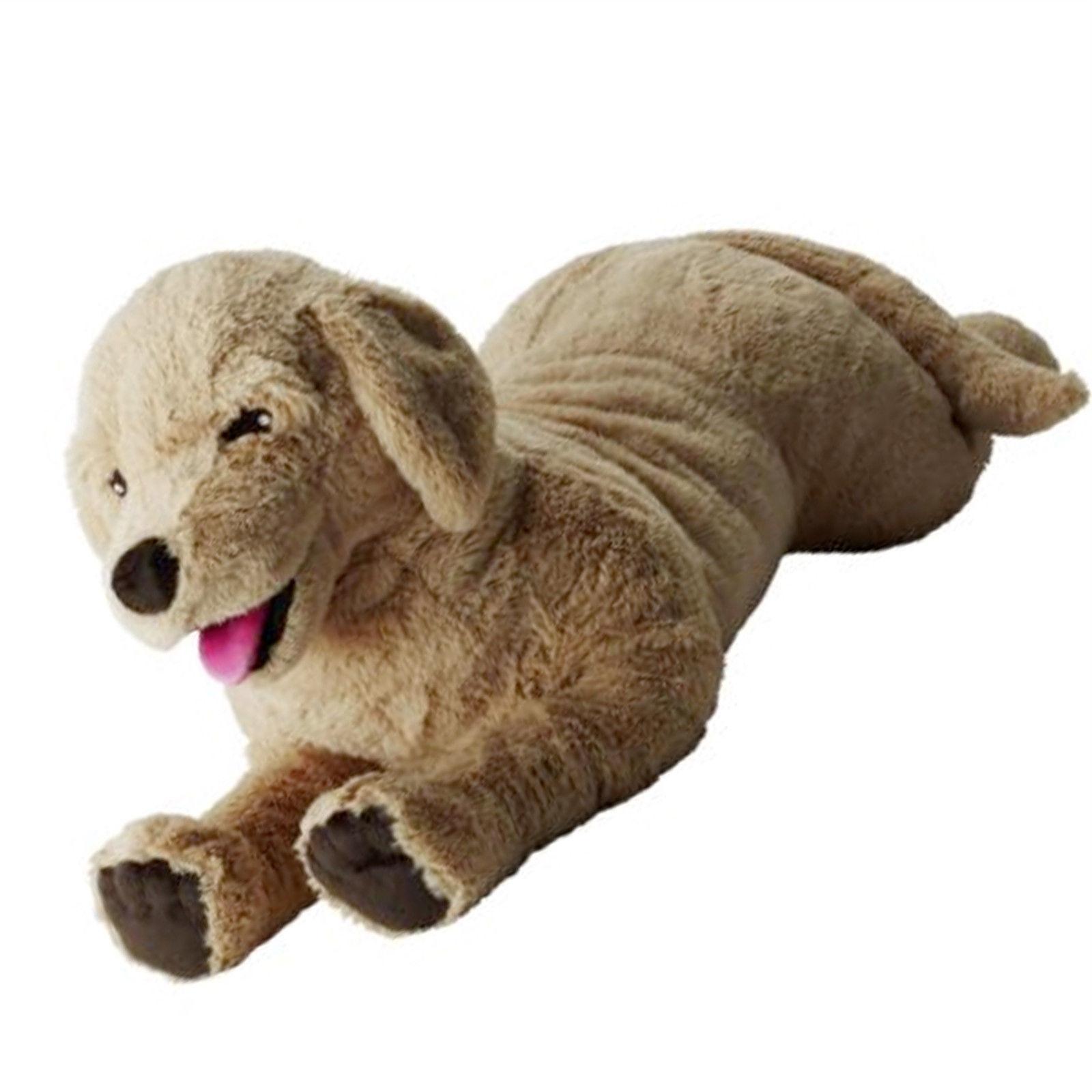 ikea gosig golden stofftier hund 70cm stoffhund kuscheltier spielzeug xxl neu traumfabrik xxl. Black Bedroom Furniture Sets. Home Design Ideas