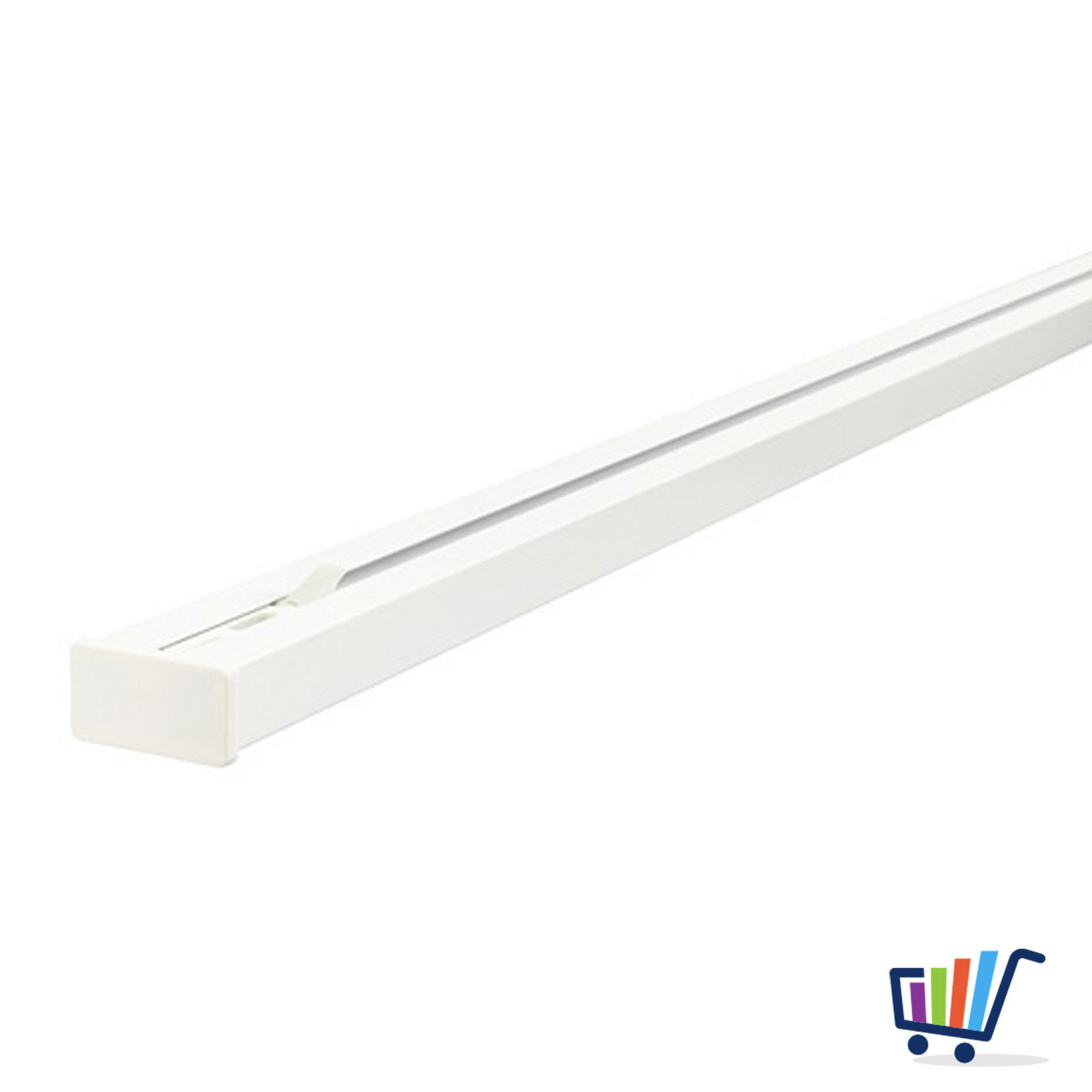 Gut gemocht IKEA Gardinenschiene VIDGA dreifach Laufschiene Schiene 3-läufig EK27