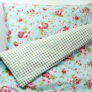 ikea rosali 155 220 2 tlg bettw sche set bettbezug 80 80 220 155 hellblau neu traumfabrik xxl. Black Bedroom Furniture Sets. Home Design Ideas