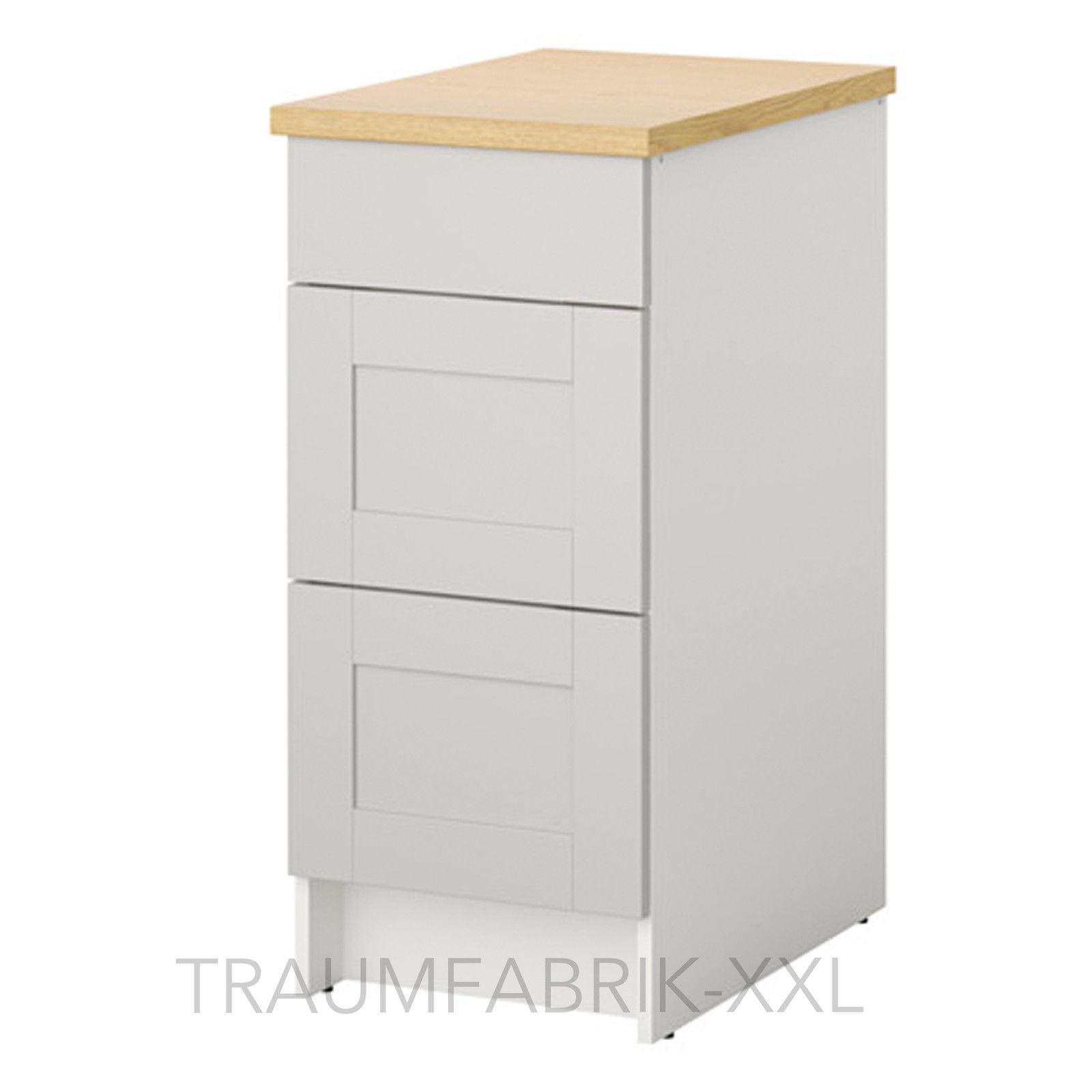 IKEA Unterschrank mit Schubladen Küchenunterschrank Küchen Schrank ...