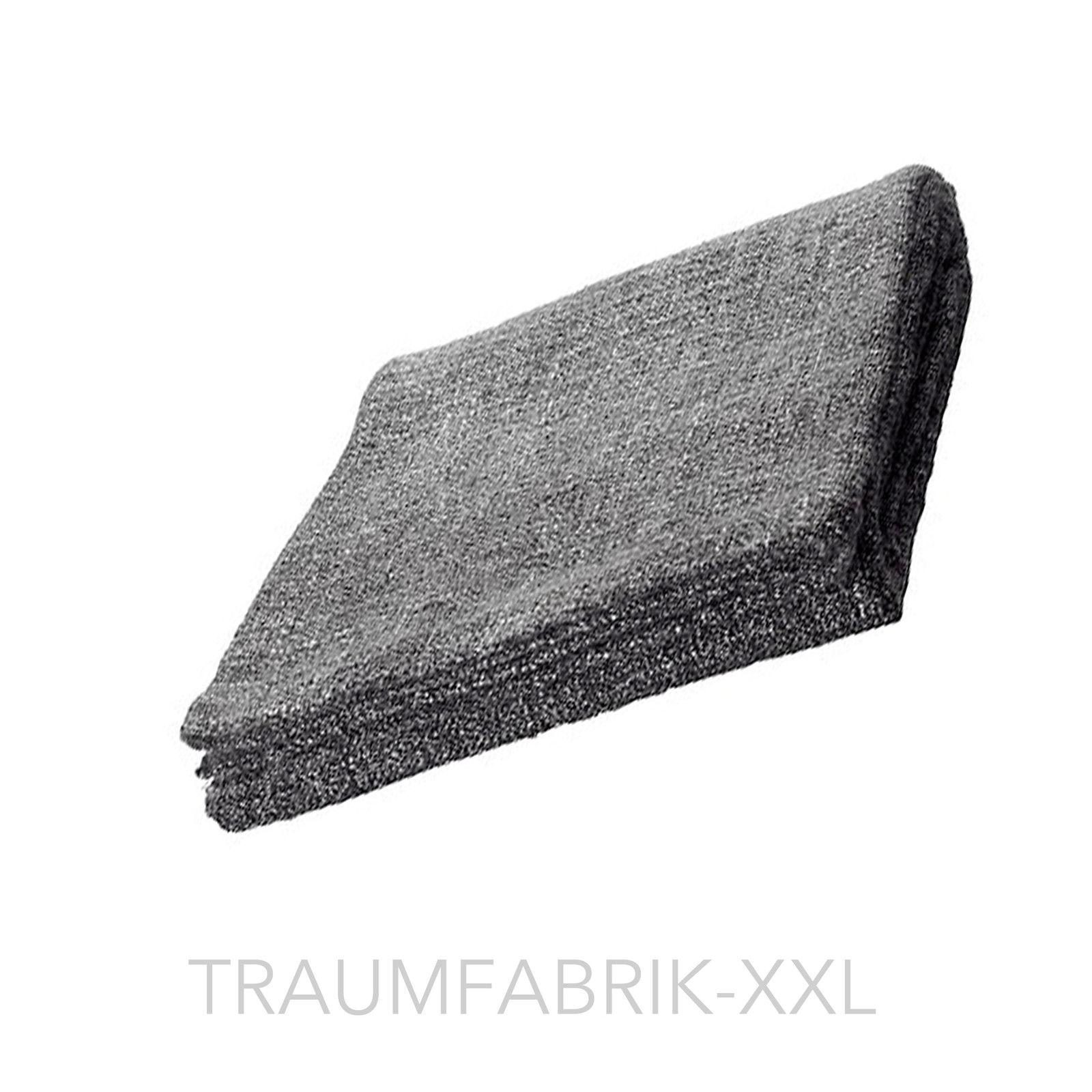 tagesdecke 120 180 cm decke kuscheldecke plaid berwurf wolldecke grau schwarz traumfabrik xxl. Black Bedroom Furniture Sets. Home Design Ideas